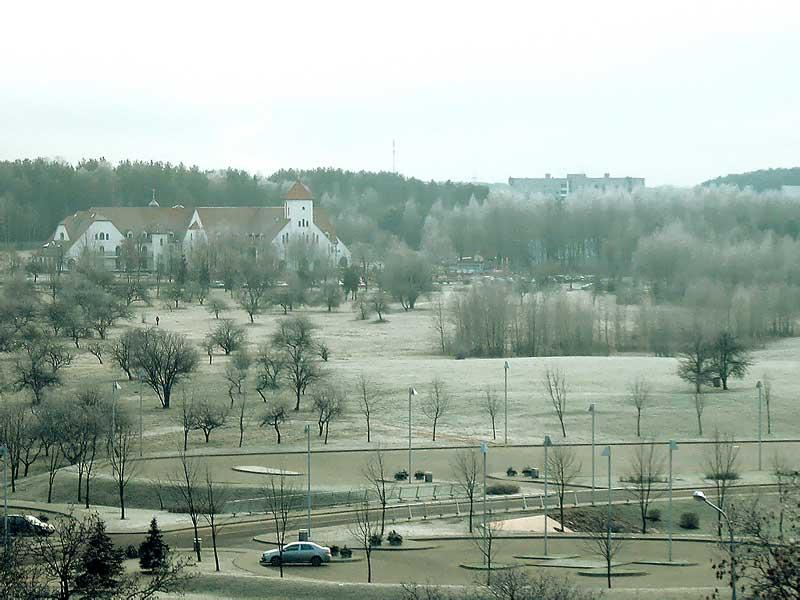 Дом милосердия Минск. Вид со стороны микрорайона Восток. Фото. Картинка